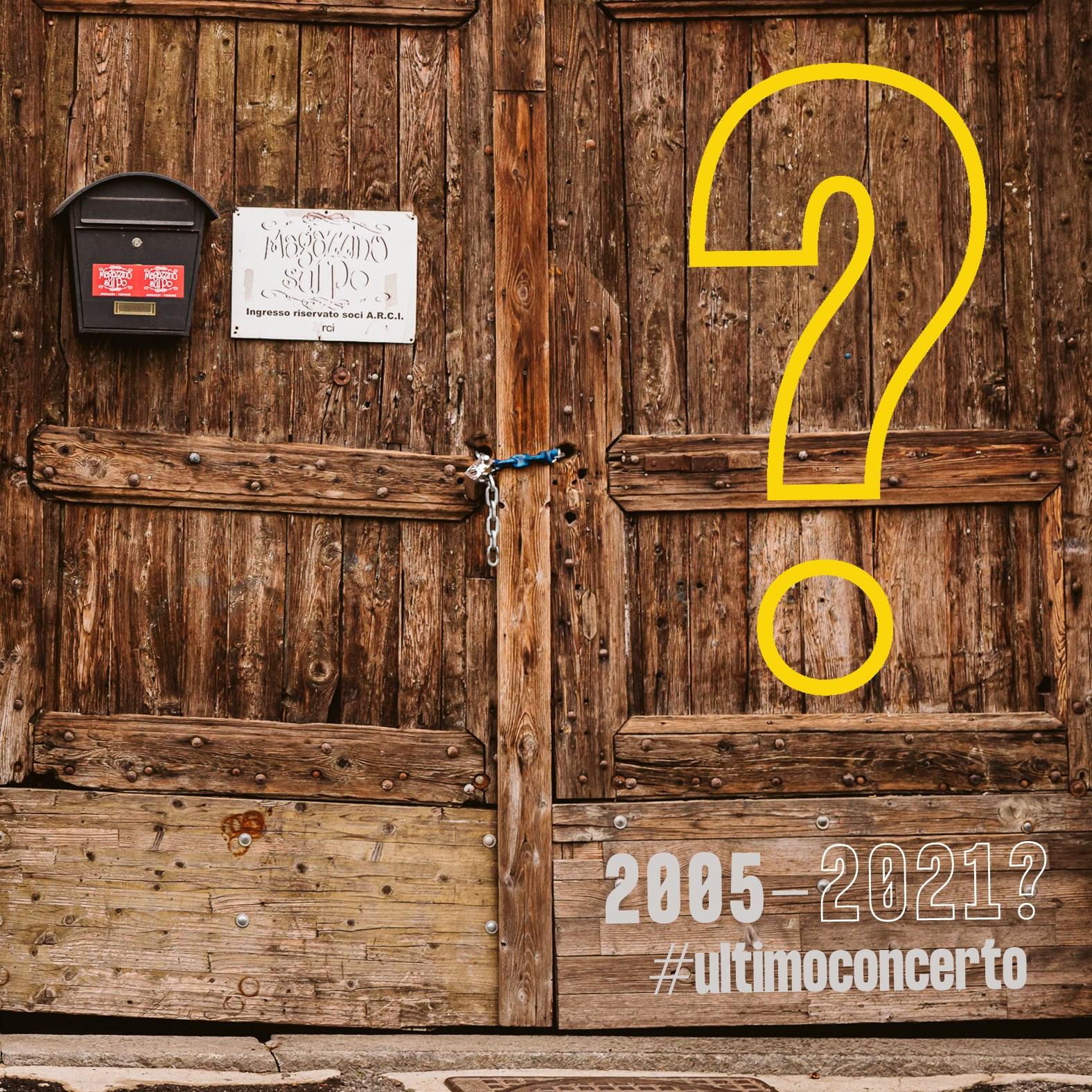 Magazzini Sul Po di Torino - L'Ultimo Concerto? #ultimoconcerto