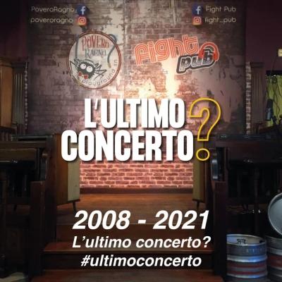 Povero Ragno - L'Ultimo Concerto? #ultimoconcerto