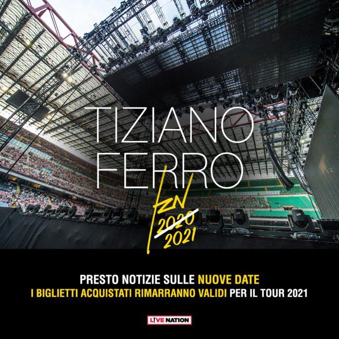 Tiziano FErro - Locandina 2021