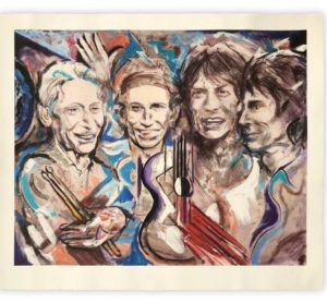 Ronnie Wood Rolling Stones Artwork
