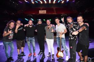 Crew super Band sanremo Rock 2020