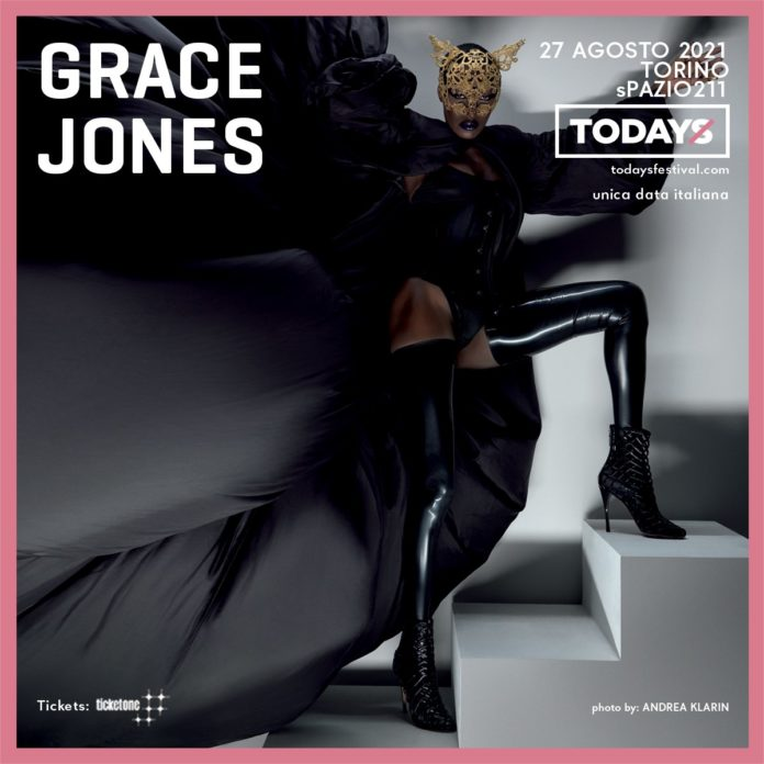 Grace Jones Todays 2021