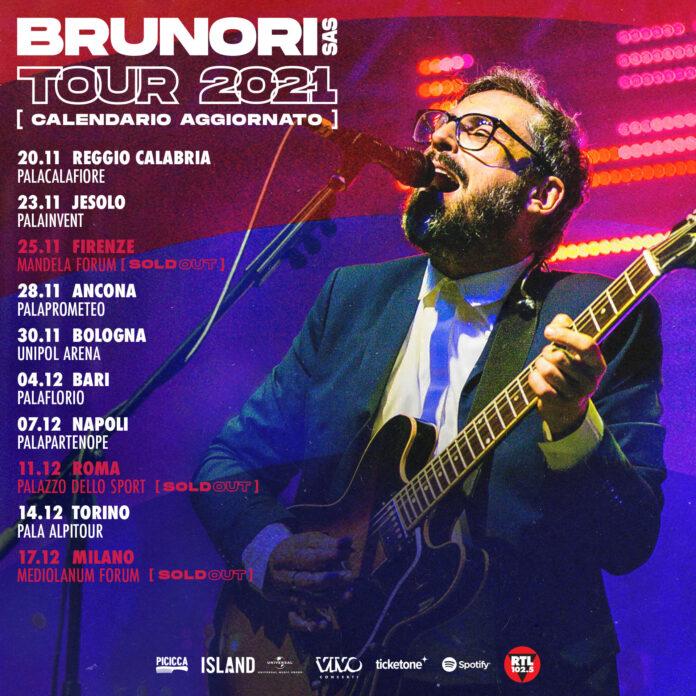 Brunori Sas tour 2021