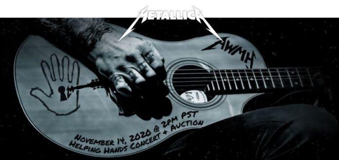 Metallica helping hands concert 2020