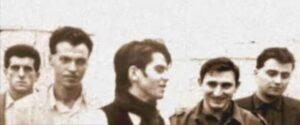 I Litfiba con Francesco Calamai alla batteria