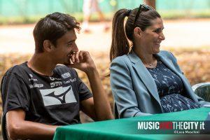 Lorenzo Sonego e Chiara Appendino